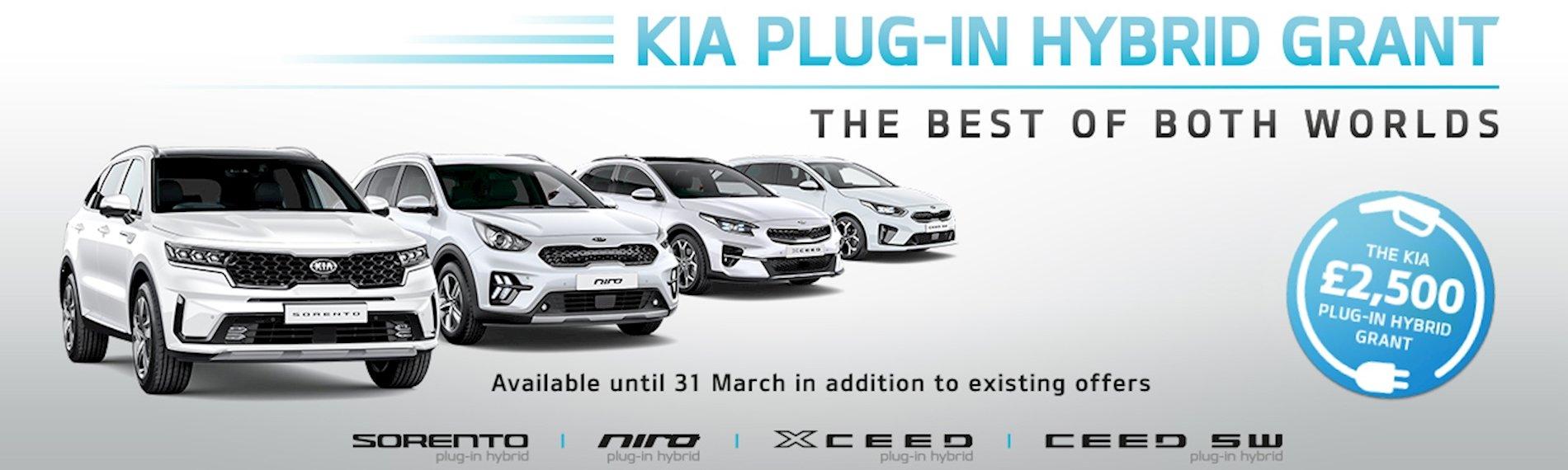 Kia Plug in hybrid grant