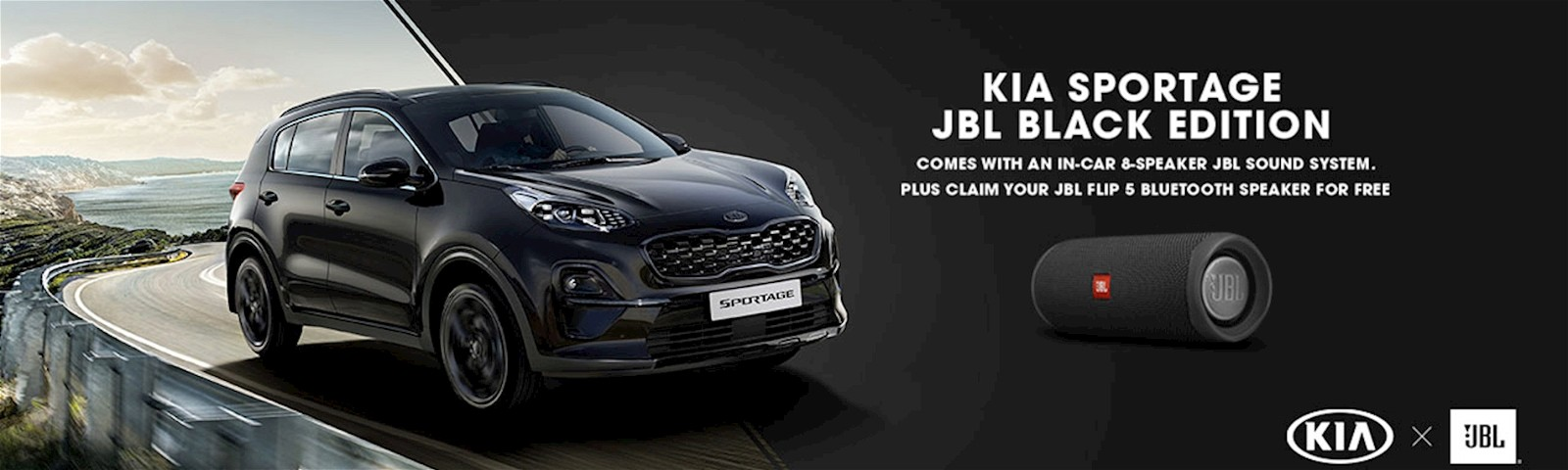 The New Kia Sportage JBL Black Edition