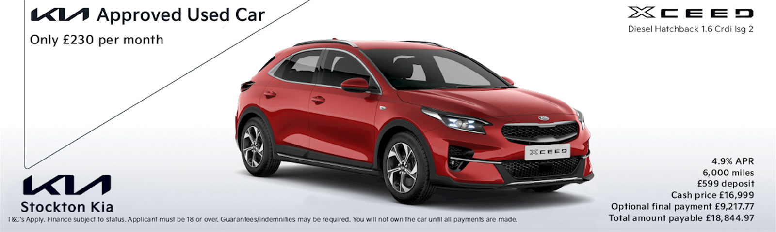 Kia Xceed used approved