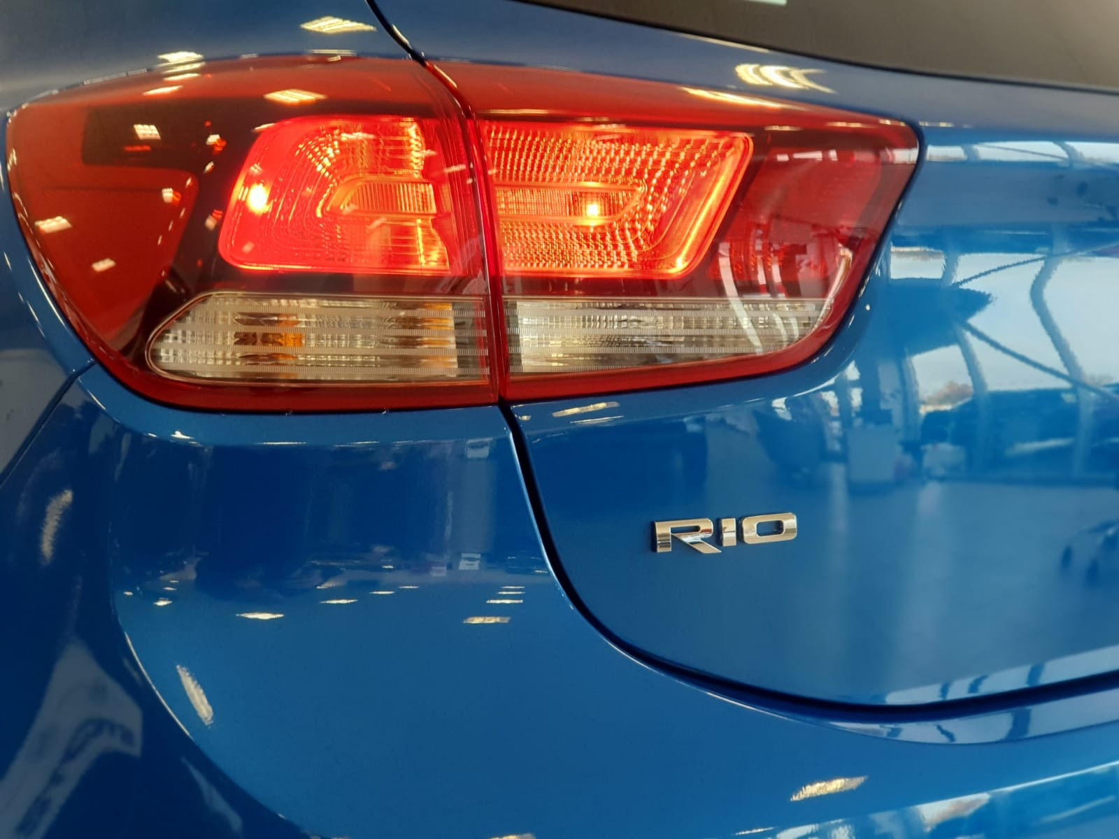 New Kia Rio Colour - Azure Blue