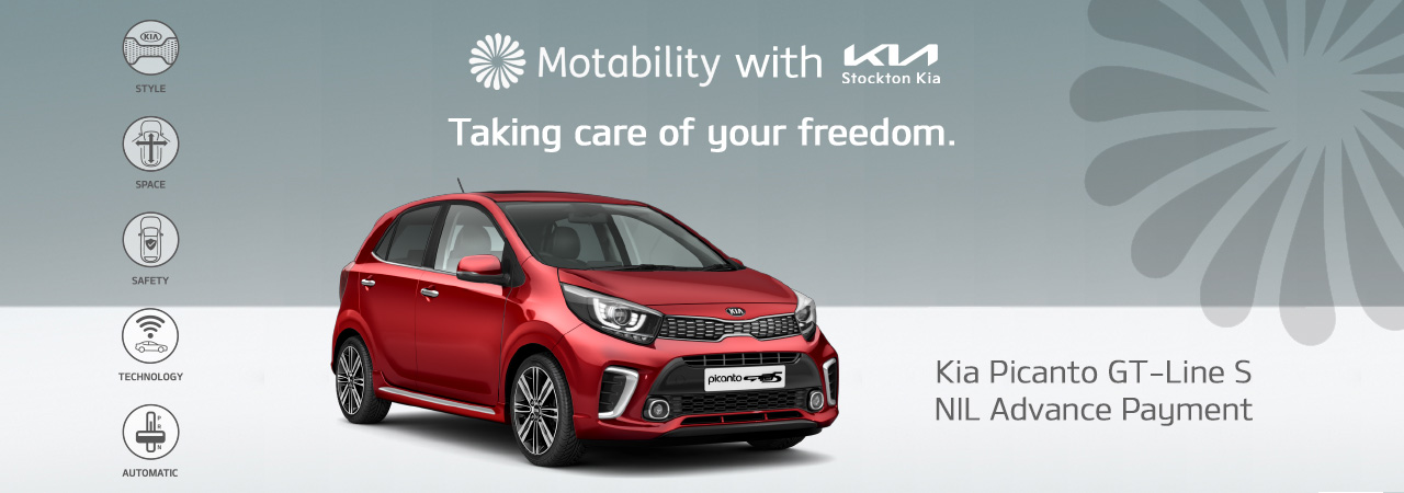 Kia Picanto from NIL Advance Payment on Motability