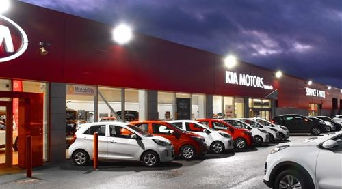Stockton Kia Gets A Makeover