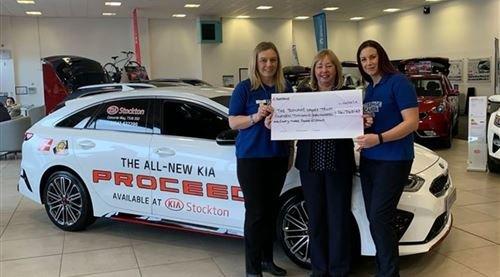 Stockton Kia's Support Of The Teenage Cancer Trust