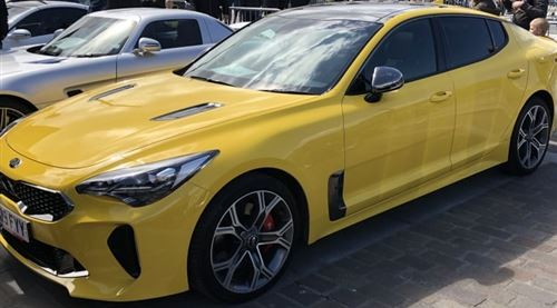 The Yellow Stinger Goes To Supercar Saturday