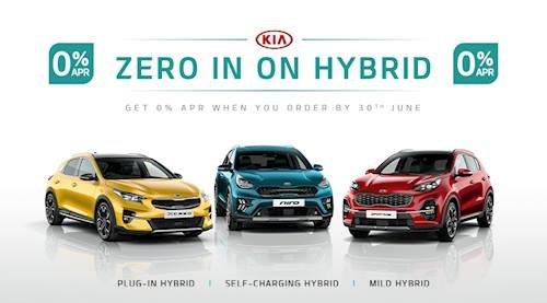 Zero in on Hybrid at Stockton Kia